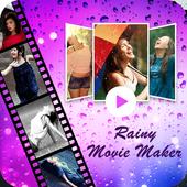 Rainy Photo Video Movie Maker icon