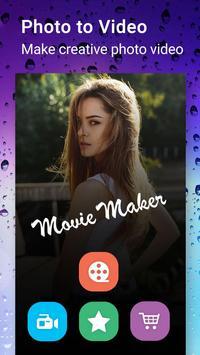 Rainy Photo Video Movie Maker poster
