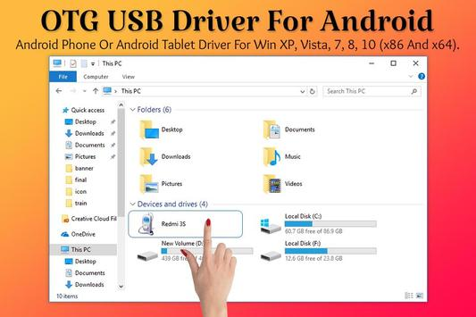 USB OTG: USB Driver for Android poster