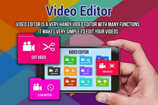 Video Editor for Video poster
