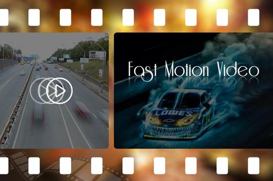 Fast Motion Video Maker poster