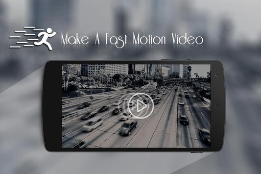 Fast Motion Video Maker apk screenshot
