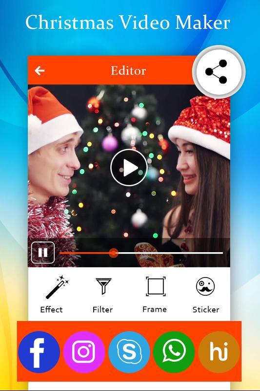 christmas video maker screenshot 5