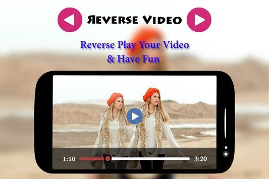 Reverse Video Maker apk screenshot