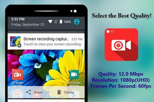 Screen Recorder HD apk screenshot