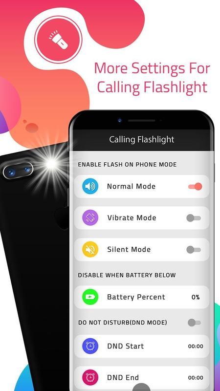 Calling flashlight download