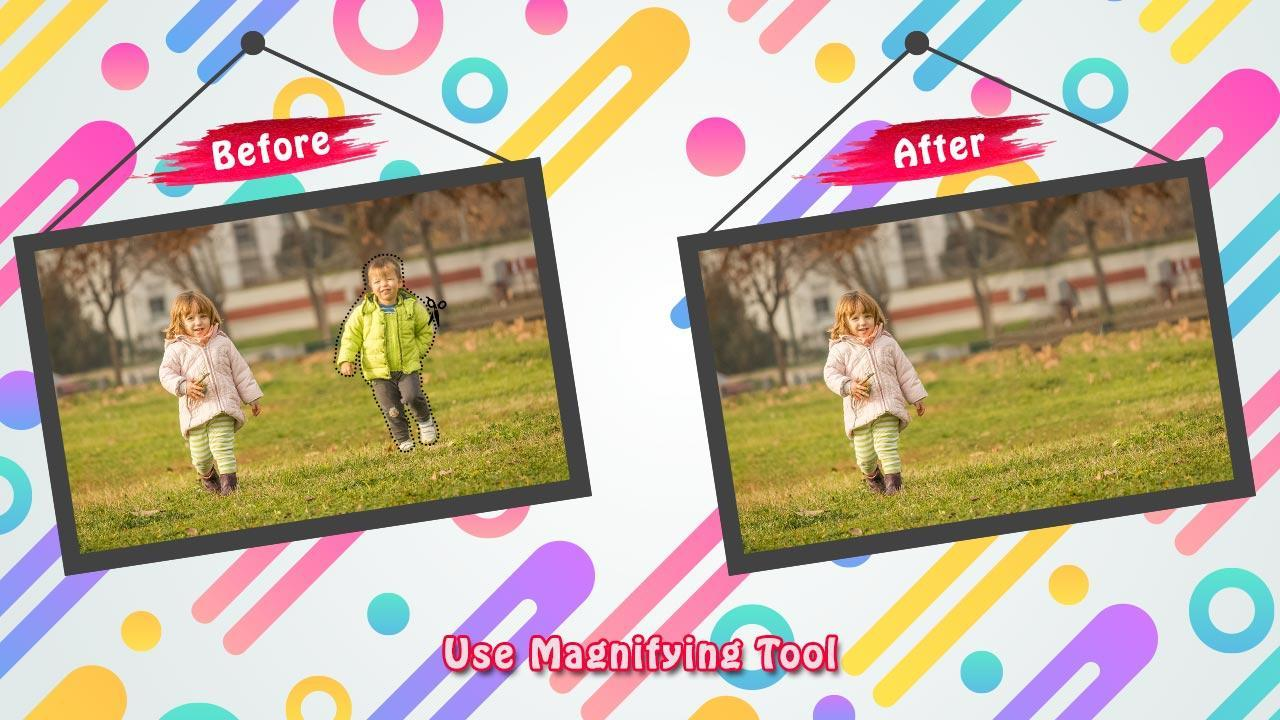 Image Inpainting- Redefine Images(Touch Retouch) for Android