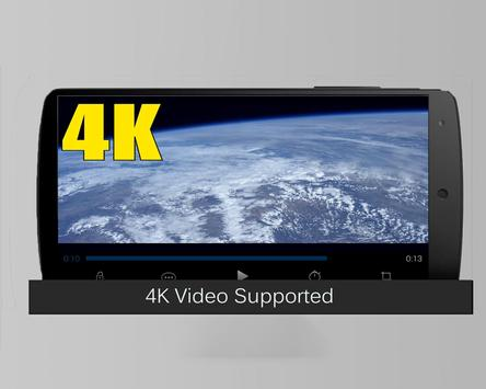 Video Player HD 4K  for android - Tube Player Vid poster