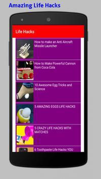 Amazing Life Hacks Tricks Videos HD screenshot 5