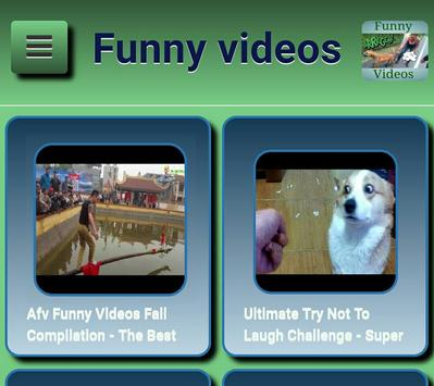 Funny videos apk screenshot