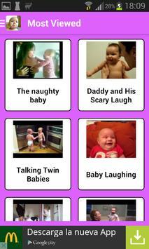 赤ちゃん面白い動画 スクリーンショット 2