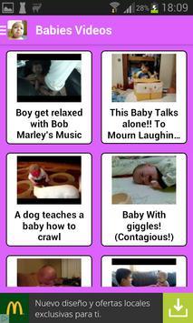 赤ちゃん面白い動画 スクリーンショット 4