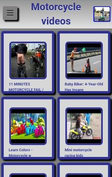 Motorcycle videos poster