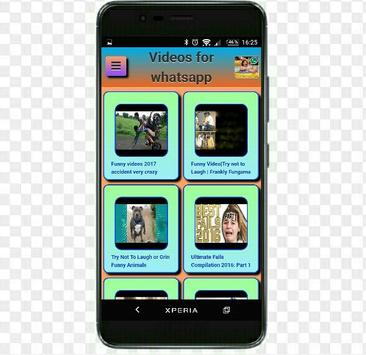 Videos for whatsapp poster