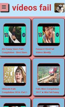 Videos Fail screenshot 1