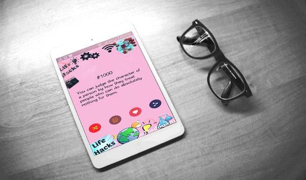 Life Hacks +1000 Astuces apk screenshot