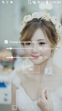 Hot Girl Live Wallpaper apk screenshot