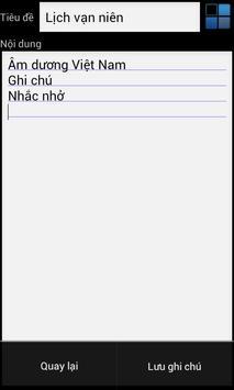Lịch tử vi, vạn sự nhớ Pro screenshot 2