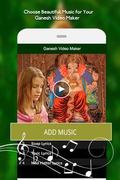 Ganesh Video Maker - Ganesh Chaturthi Video Maker apk screenshot