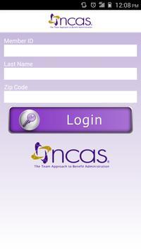 NCAS Health Ticket poster