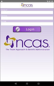 NCAS Health Ticket apk screenshot
