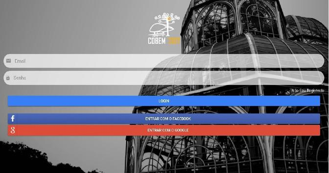 COBEM 2017 apk screenshot