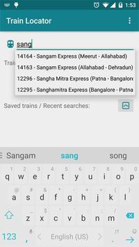 Train Locator apk screenshot