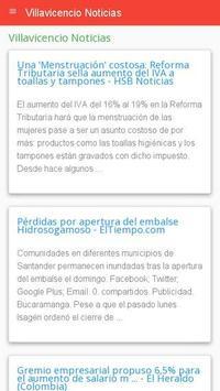 Noticias de Villavicencio screenshot 1
