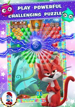 Sweet Smurf 💙 Village Bubble Color 💙 screenshot 4