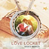 Love Locket Video Maker icon