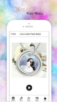 Love Locket Video Maker poster