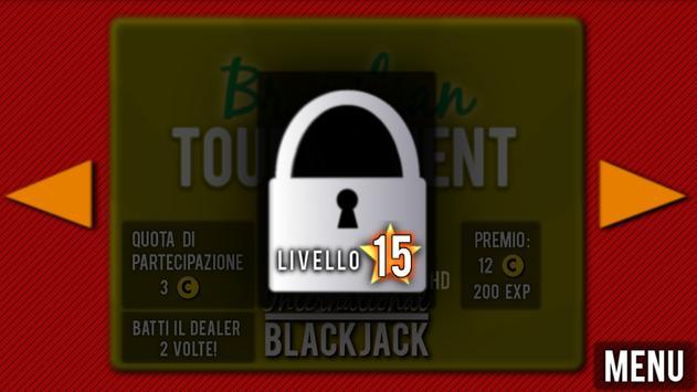 International BLACKJACK HD apk screenshot