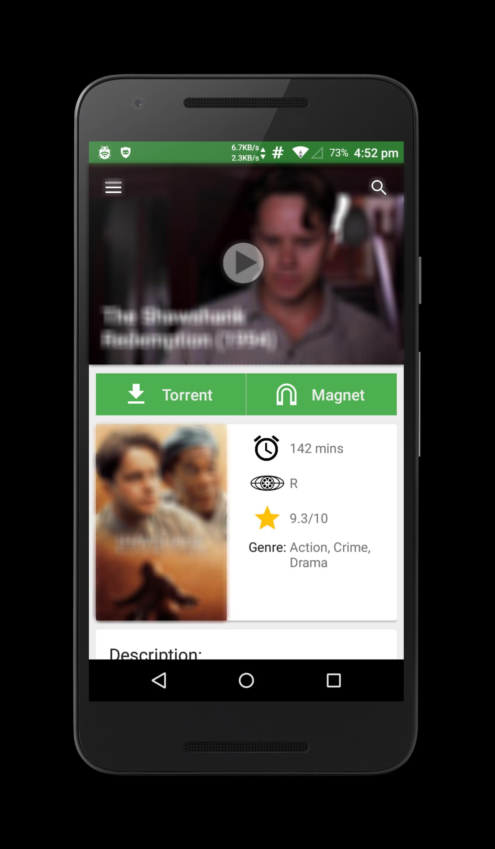 YIFY Browser for Android - APK Download
