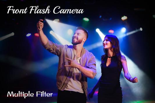 Front Flash Camera स्क्रीनशॉट 1