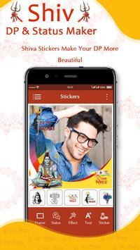 Mahakal Shiva DP & Status Maker स्क्रीनशॉट 2