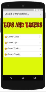 Cheats For Moviestarplanet VIP screenshot 1