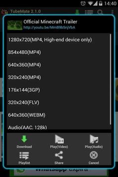 Tube Mate  screenshot 1