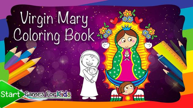 Virgin Mary Coloring Book poster