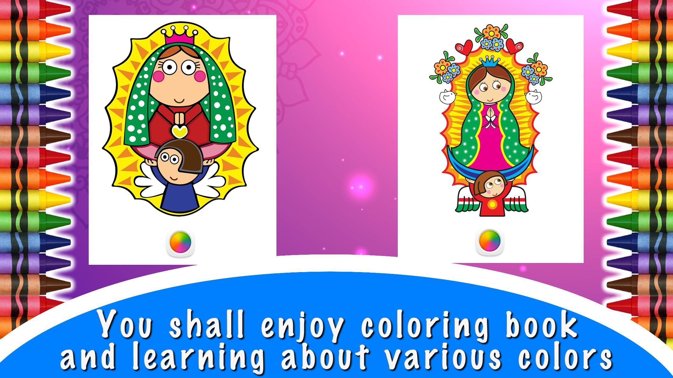 Vírgenes Libro Para Colorear For Android Apk Download