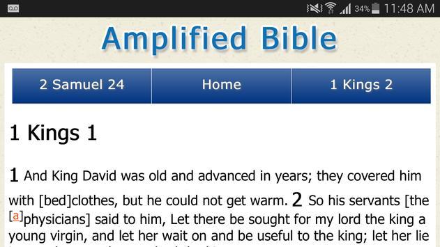 Amplified Bible Version apk screenshot