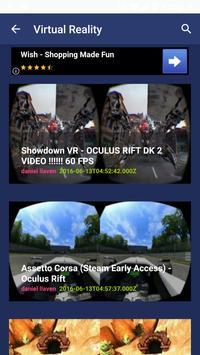 VR Virtual Reality poster