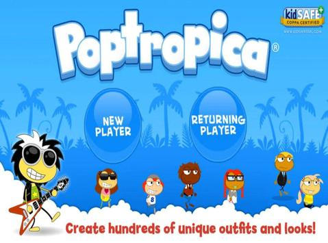 Guide for poptropica game poster