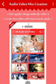 Mix Audio with Video screenshot 4