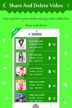 Mix Audio with Video screenshot 8