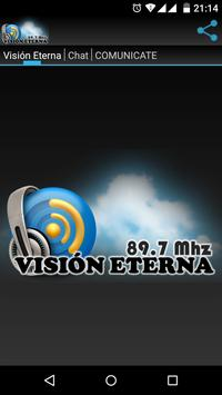 Visión Eterna - 89.7 Mhz poster