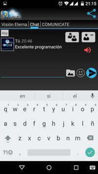 Visión Eterna - 89.7 Mhz apk screenshot