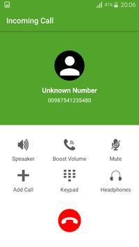 Fake Call Master 2017 apk screenshot