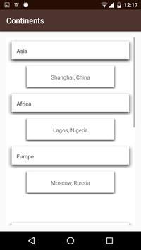 Continents. screenshot 4