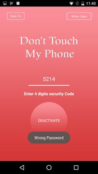 Don't Touch My Phone - Alarm. apk screenshot