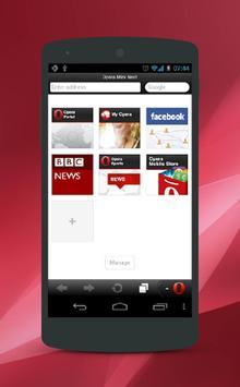 Tips Opera Mini Browser poster